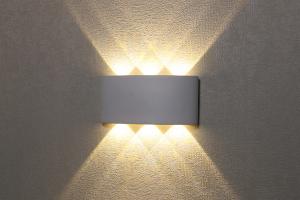 Đèn LED gắn tường ngoài trời LWA8031-WH Kingled