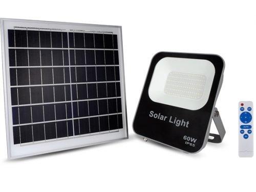 Đèn Pha LED Năng Lượng Mặt Trời Kingeco