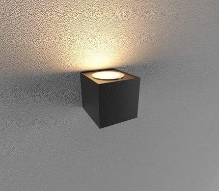 Đèn led gắn tường ngoài trời LWA0150A-BK