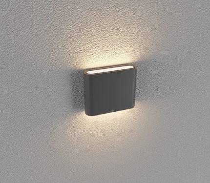 Đèn led gắn tường LWA8011-S-BK
