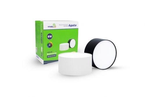 đèn ống bơ tán quang Agate 8W (OBK-8SS-D95)